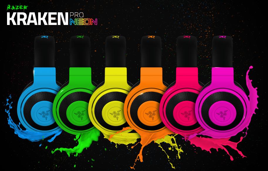 E3 2014 Razer Kraken Pro Neon Metatrone
