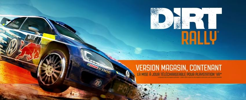 dirt rally vr disponible sur le playstation store metatrone. Black Bedroom Furniture Sets. Home Design Ideas