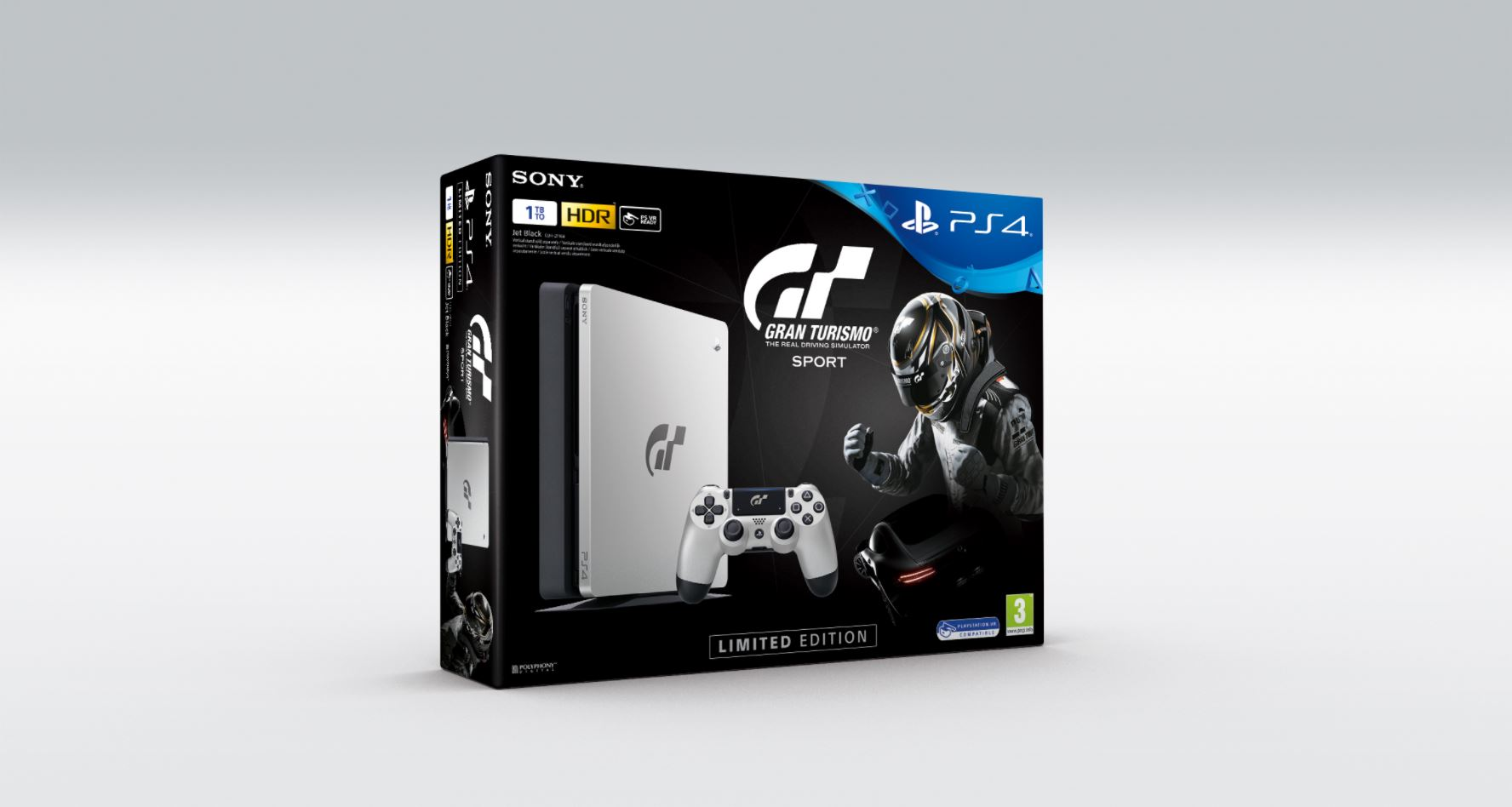 le pack ps4 gran turismo sport limited edition d voil metatrone. Black Bedroom Furniture Sets. Home Design Ideas