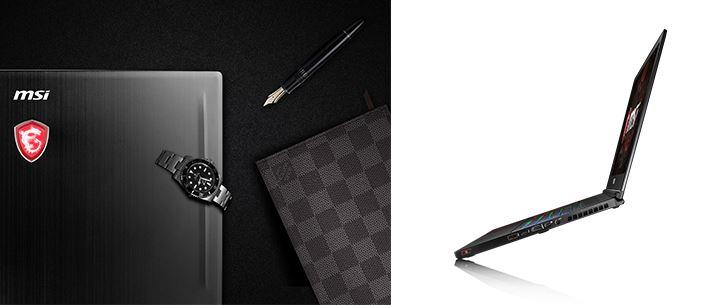 Laptop haut de gamme MSI GS63 7RD Stealth Pro