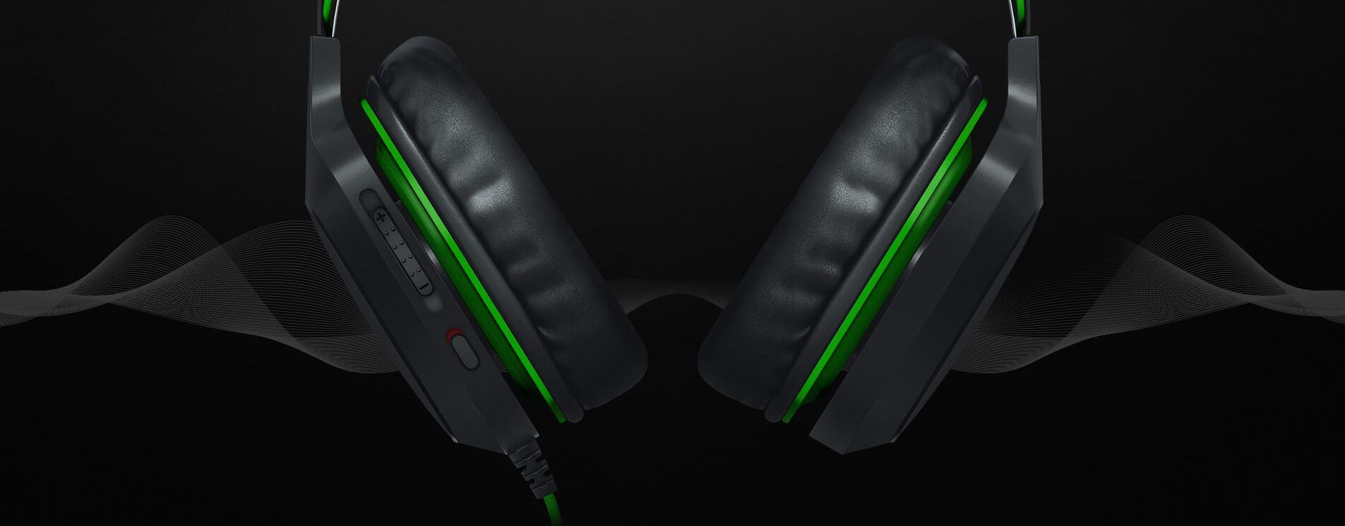 casque gaming Razer Electra V2 USB 123