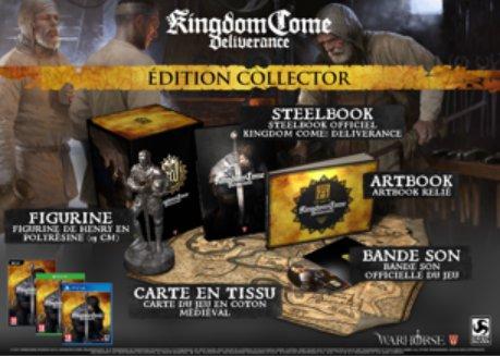 Kingdom Come Deliverance ps4 xbox one pc date de sortie edition limitée