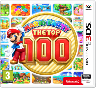 Mario Party The Top 100 date de sortie 3DS