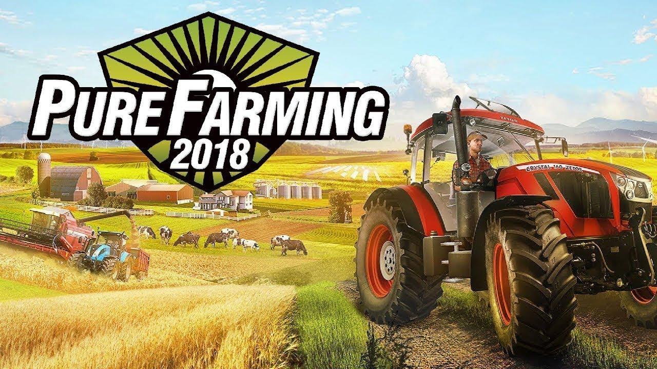 pure farming 2018 r v le un nouveau trailer metatrone. Black Bedroom Furniture Sets. Home Design Ideas