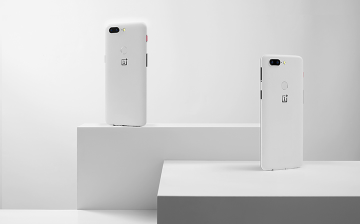 OnePlus 5T Sandstone White en édition limitée stock disponible 1