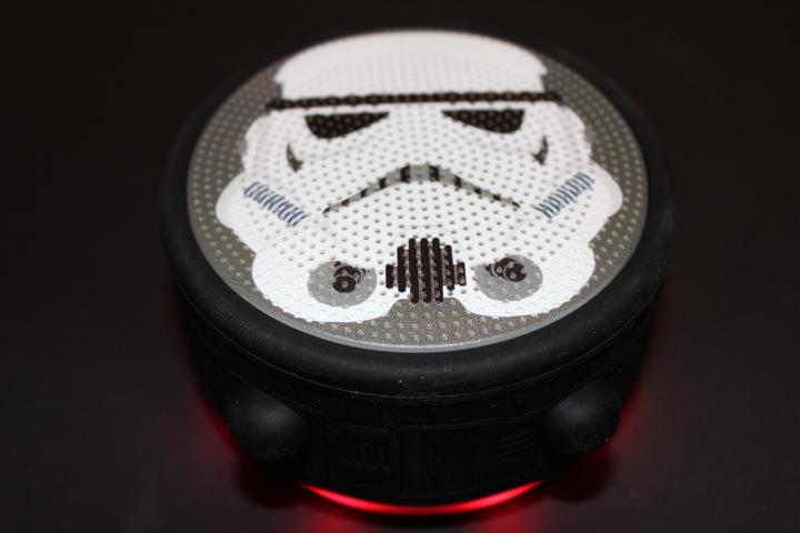 Test Mini enceinte bluetooth Star Wars Stormtrooper
