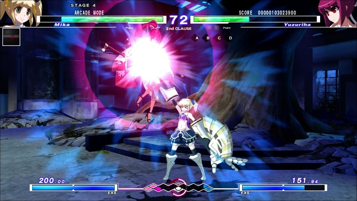 UNDER NIGHT IN-BIRTH Exe Late ps3 ps4 ps vita 14