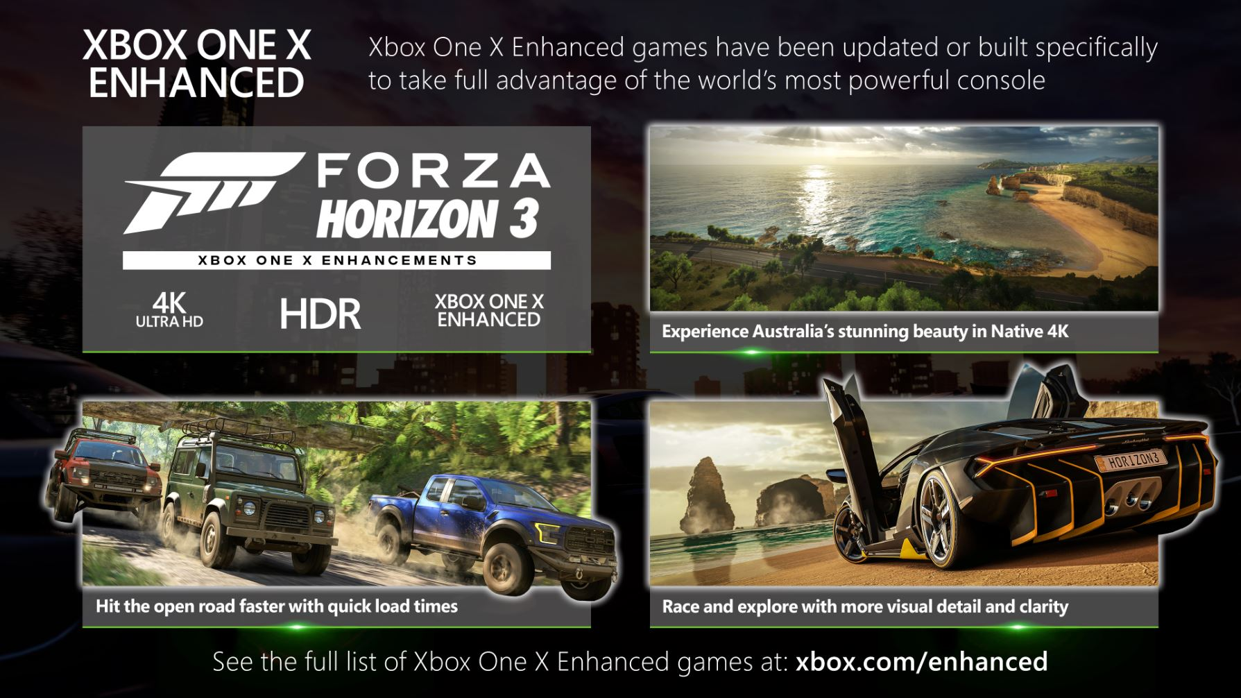 forza 3 optimisé xbox one x