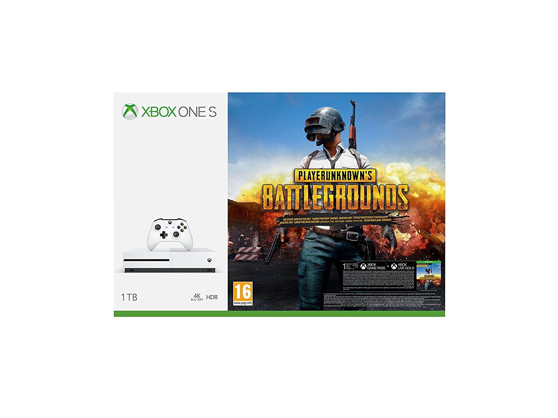 Pack Bundle Xbox One S PUBG amazon