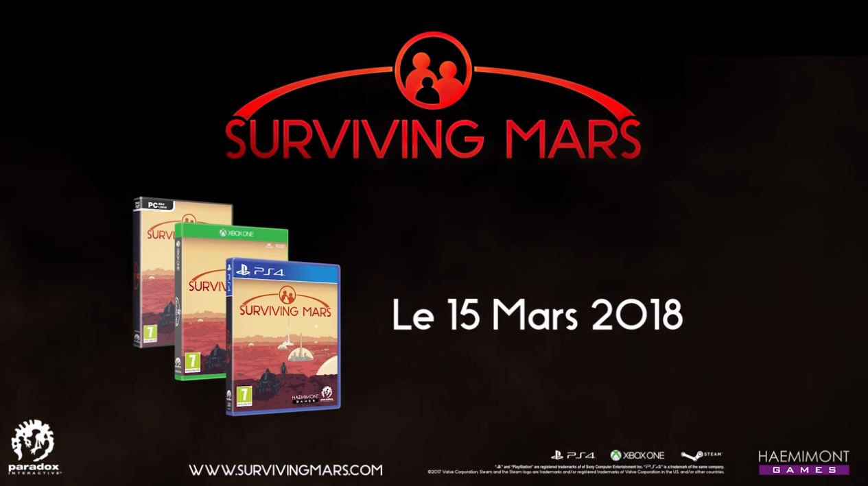 survivign mars pc xbox one ps4 pro 3