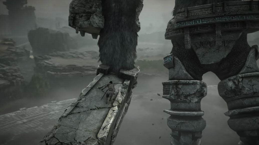 test shadow of the colossus 2018 ps4 PRO 1
