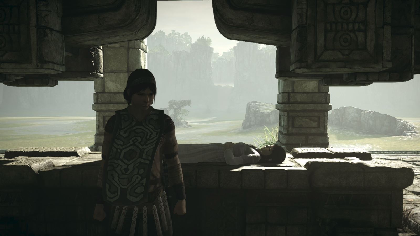 test shadow of the colossus 2018 ps4 pro 2
