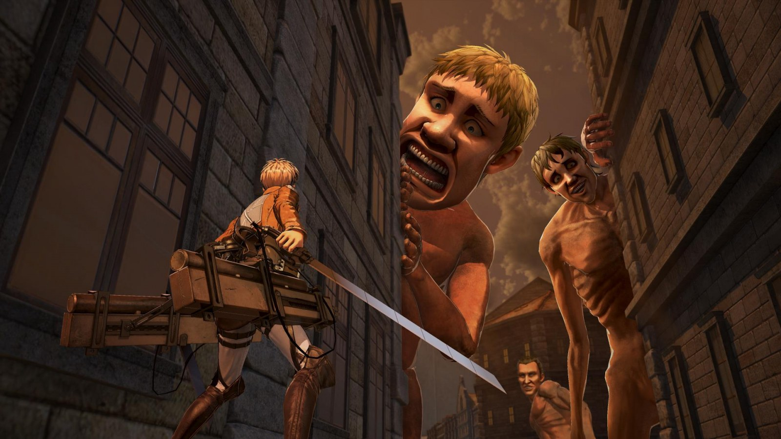 Test Attack on Titan 2 pc xbox one switch ps4 5