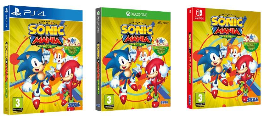 Sonic Mania Plus date de sortie dévoilée ps4 switch xbox one