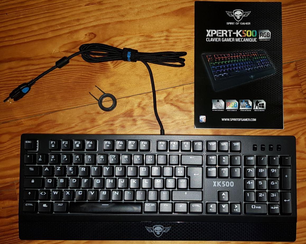 Test Spirit of Gamer Xpert K500 screen11