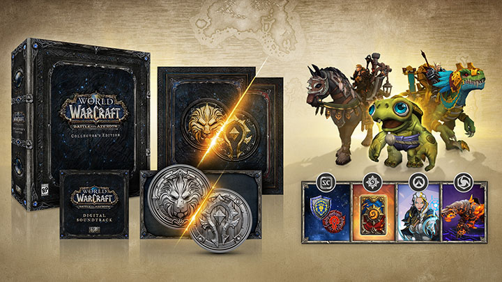 World of Warcraft Battle for Azeroth édition collector deluxe
