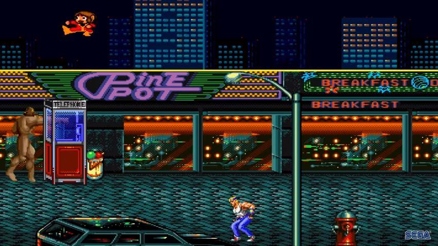 SEGA Mega Drive Classics screen1
