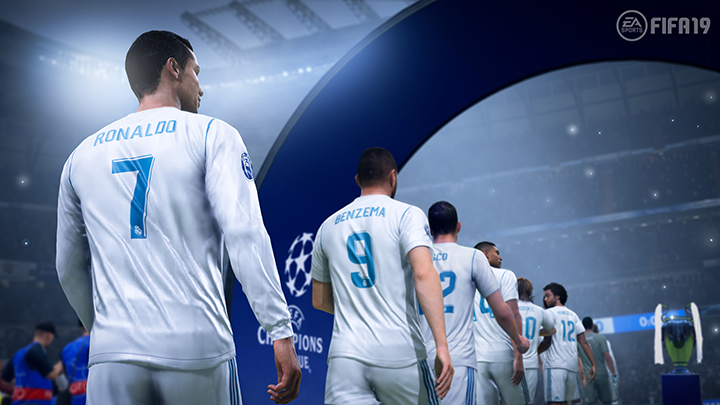 FIFA 19 nintendo switch xbox one pc ps4 trailer