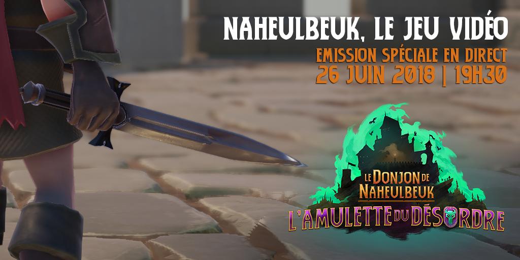 Le Donjon de Naheulbeuk L'amulette du désordre video