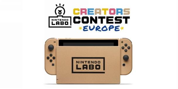 creators contest europe ninteno labo mario kart 8 deluxe switch