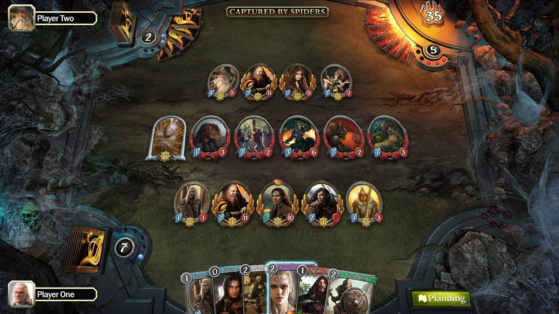 The Lord of the Rings Living Card Game pc steam mac 1