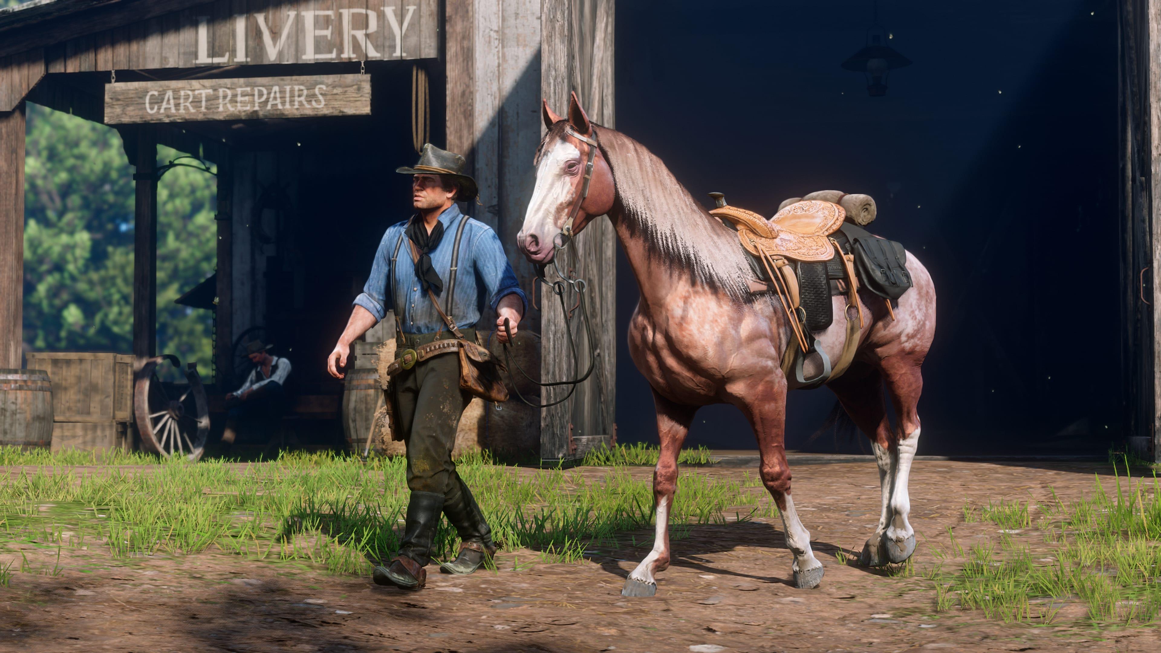 Guide Les Animaux dans Red Dead Redemption chevaux 2