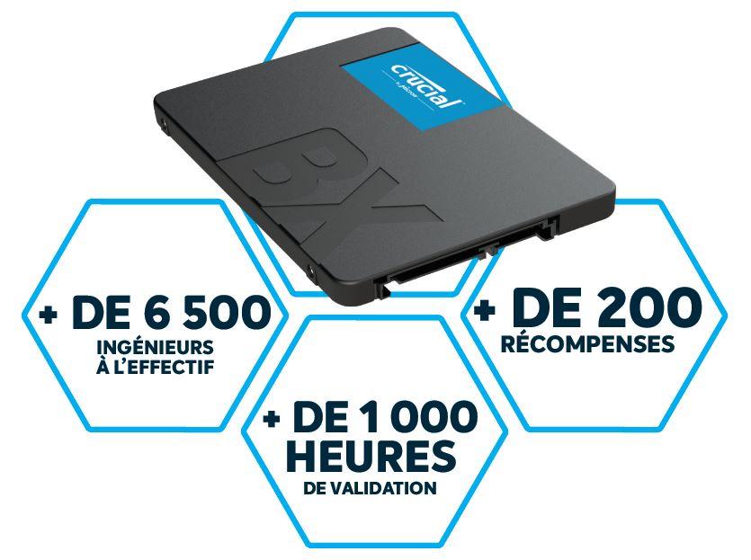 SSD Crucial BX500 infos