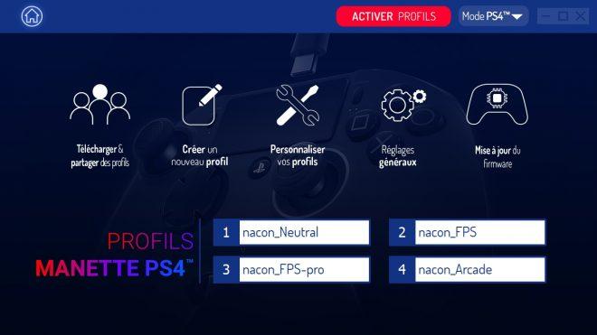 Test Nacon Revolution Pro Controller 2 logiciel25