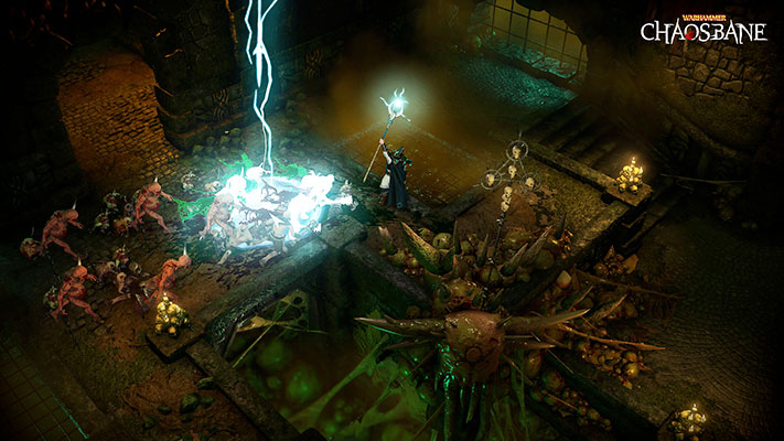 vidéo de gameplay Warhammer Chaosbane 2