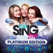 Mise à jour du playstation store du 22 octobre 2018 Let's Sing 2019 – Platinum Edition