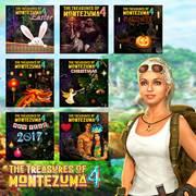 Mise à jour du playstation store du 22 octobre 2018 The Treasures of Montezuma 4 Holiday Bundle