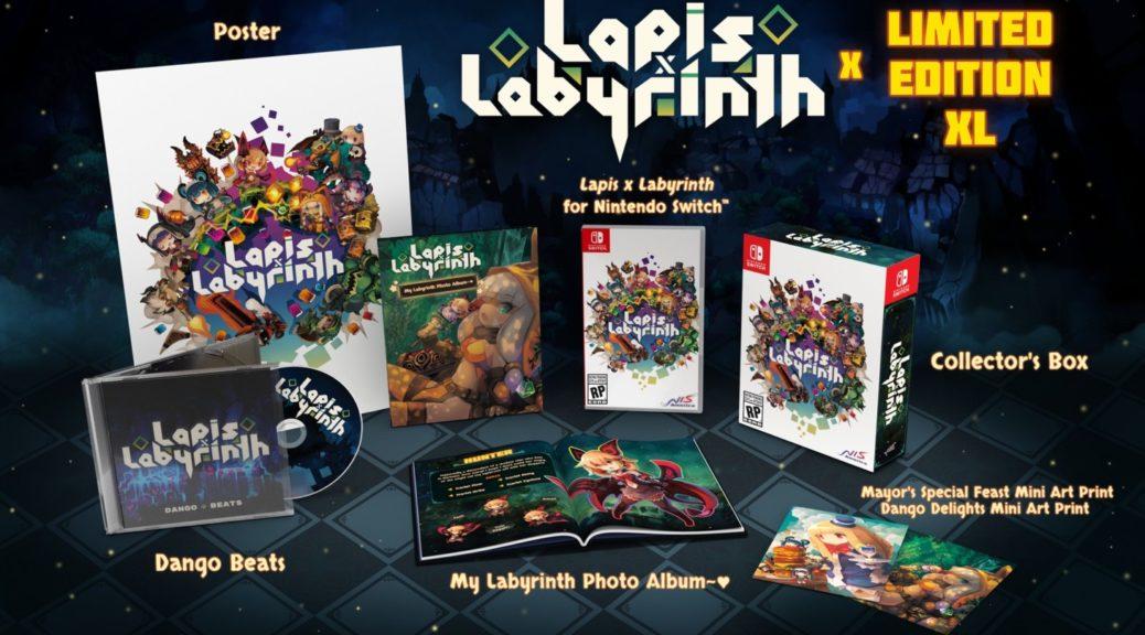 Lapis x Labyrinth xl edition limitée